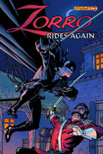Image: Zorro Rides Again #3 - D. E./Dynamite Entertainment