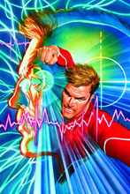 Image: Bionic Man #2 (Alex Ross Dynamic Forces Exclusive virgin cover) - Dynamite