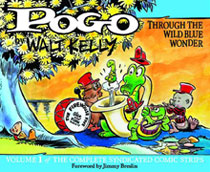 Image: Pogo Complete Syndicated Strips Vol. 01: Through the Wild Blue Wonder HC  - Fantagraphics Books