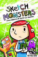 Image: Sketch Monsters, Escape of the Scribbles HC  - Oni Press Inc.