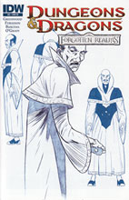 Image: Dungeons & Dragons: Forgotten Realms #5 (10-copy incentive cover) - IDW Publishing
