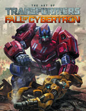 Image: Art of Transformers Fall of Cybertron HC  - IDW Publishing