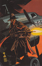 Image: The Shadow #6 (50-copy Francavilla virgin variant cover) - D. E./Dynamite Entertainment