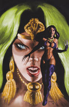 Image: Pantha #4 (15-copy Texiera virgin variant cover) - D. E./Dynamite Entertainment