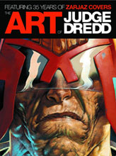 Image: Art of Judge Dredd: 35 Years of Zarjaz Covers HC  - Rebellion / 2000AD