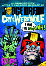 Image: Judge Dredd: Cry of the Werewolf GN  - Rebellion / 2000AD