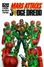 Image: Mars Attacks Judge Dredd #1 - IDW Publishing