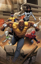 Image: Mighty Avengers by Land Poster  - Marvel Comics