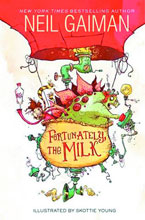 Image: Fortunately, the Milk HC  - William Morrow