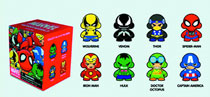 Image: Marvel Munny Zipper Pull 20-Piece Blind Mystery Box Display  -