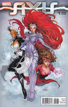 Image: Avengers and X-Men: Axis #1 (variant cover - Manara) - Marvel Comics