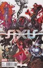 Image: Avengers and X-Men: Axis #1 (variant cover - Young Guns Complete) - Marvel Comics