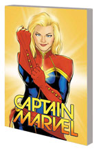 Image: Captain Marvel Vol. 01: Higher, Further, Faster, More SC  - Marvel Comics