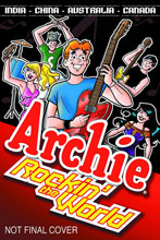 Image: Archie: Rockin' the World SC  - Archie Comic Publications