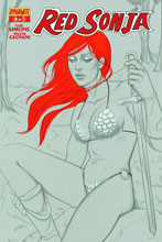 Image: Red Sonja #15 (Frison variant incentive cover - 15031) (15-copy) - Dynamite