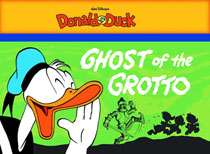 Image: Walt Disney's Donald Duck: The Ghost of the Grotto SC  - Fantagraphics Books