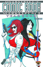 Image: Overstreet's Comic Book Marketplace Yearbook 2014 - 2015  (Shi / Painkiller Jane cover) - Gemstone Publishing
