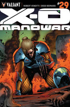 Image: X-O Manowar #29 (Cafu cover) - Valiant Entertainment LLC