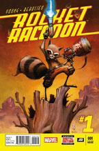 Image: Rocket Raccoon #1 (3nd printing variant cover - Skottie Young)  [2014] - Marvel Comics