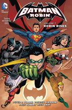 Image: Batman and Robin Vol. 07: Robin Rises HC  - DC Comics