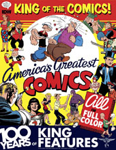 Image: King of the Comics: 100 Years of King Features HC  - IDW Publishing