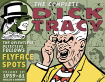 Image: Complete Chester Gould's Dick Tracy Vol. 19  (1959-1961) HC - IDW Publishing
