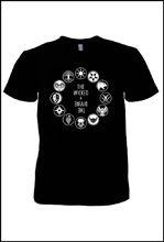 Image: Wicked & Divine: Pantheon Circle Woman's T-Shirt  (M) - Image Comics