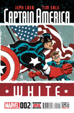 Image: Captain America: White #2 - Marvel Comics