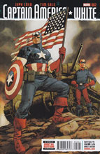 Image: Captain America White #2 (Johnson variant cover) - Marvel Comics