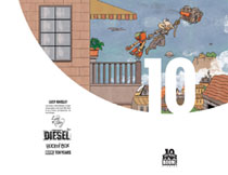 Image: Diesel #1 (variant incentive cover - 10 Years Knisley) (10-copy) - Boom! Studios
