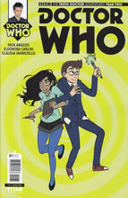 Image: Doctor Who: The 10th Doctor Year Two #1 (variant incentive cover - Rachael Smith) (10-copy) - Titan Comics