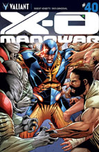 Image: X-O Manowar #40 (cover A - Sandoval) - Valiant Entertainment LLC