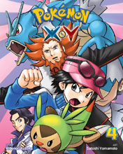 Image: Pokemon X-Y Vol. 04 GN  - Viz Media LLC