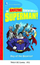 Image: Amazing Adventures of Superman: Day of the Bizarros SC  - Capstone Publishing