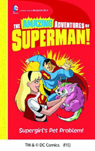 Image: Amazing Adventures of Superman: Supergirl's Pet Problem SC  - Capstone Publishing