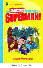 Image: Amazing Adventures of Superman: Magic Monsters SC  - Capstone Publishing