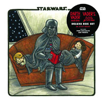 Image: Star Wars: Darth Vader & Son / Vader's Little Princess Deluxe Box Set  - Chronicle Books
