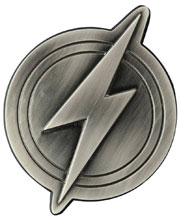 Image: Justice League Bottle Opener: Flash Logo  -