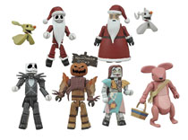 Image: Nightmare Before Christmas Minimates Series 2 Counter Display  -