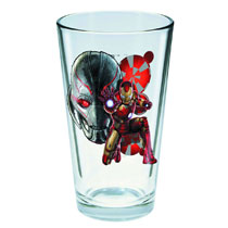 Image: Avengers: Age of Ultron Toon Tumblers Pint Glass - Iron Man  -