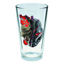 Image: Toon Tumblers Avengers: Age of Ultron Pint Glass - Vision  -