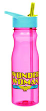 Image: DC Heroes Tritan Water Bottle: Wonder Woman  (25-Ounce) -