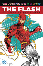 Image: Flash: An Adult Coloring Book SC  - DC Comics