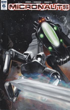 Image: Micronauts #6 (incentive cover incentive - J. K. Woodward) (10-copy) - IDW Publishing