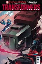 Image: Transformers: Till All Are One #4 (subscription cover - Priscilla Tramontano)  [2016] - IDW Publishing