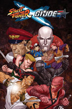 Image: Street Fighter x G.I. Joe SC  - IDW Publishing