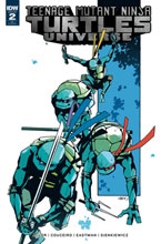 Image: Teenage Mutant Ninja Turtles Universe #2 (subscription cover B - Eastman) - IDW Publishing