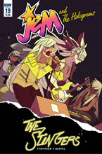 Image: Jem and the Holograms #19  [2016] - IDW Publishing