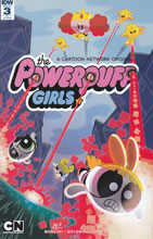 Image: Powerpuff Girls #3 (2016) (incentive cover incentive - Kyle Neswald) (10-copy)  [2016] - IDW Publishing