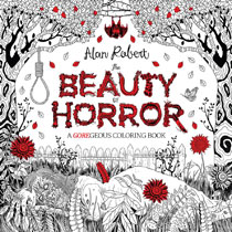 Image: Beauty of Horror: A Goregeous Coloring Book SC  - IDW Publishing